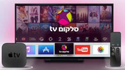 סלקום TV ו-Apple TV 4