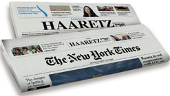 Haaretz English Edition & New York Times